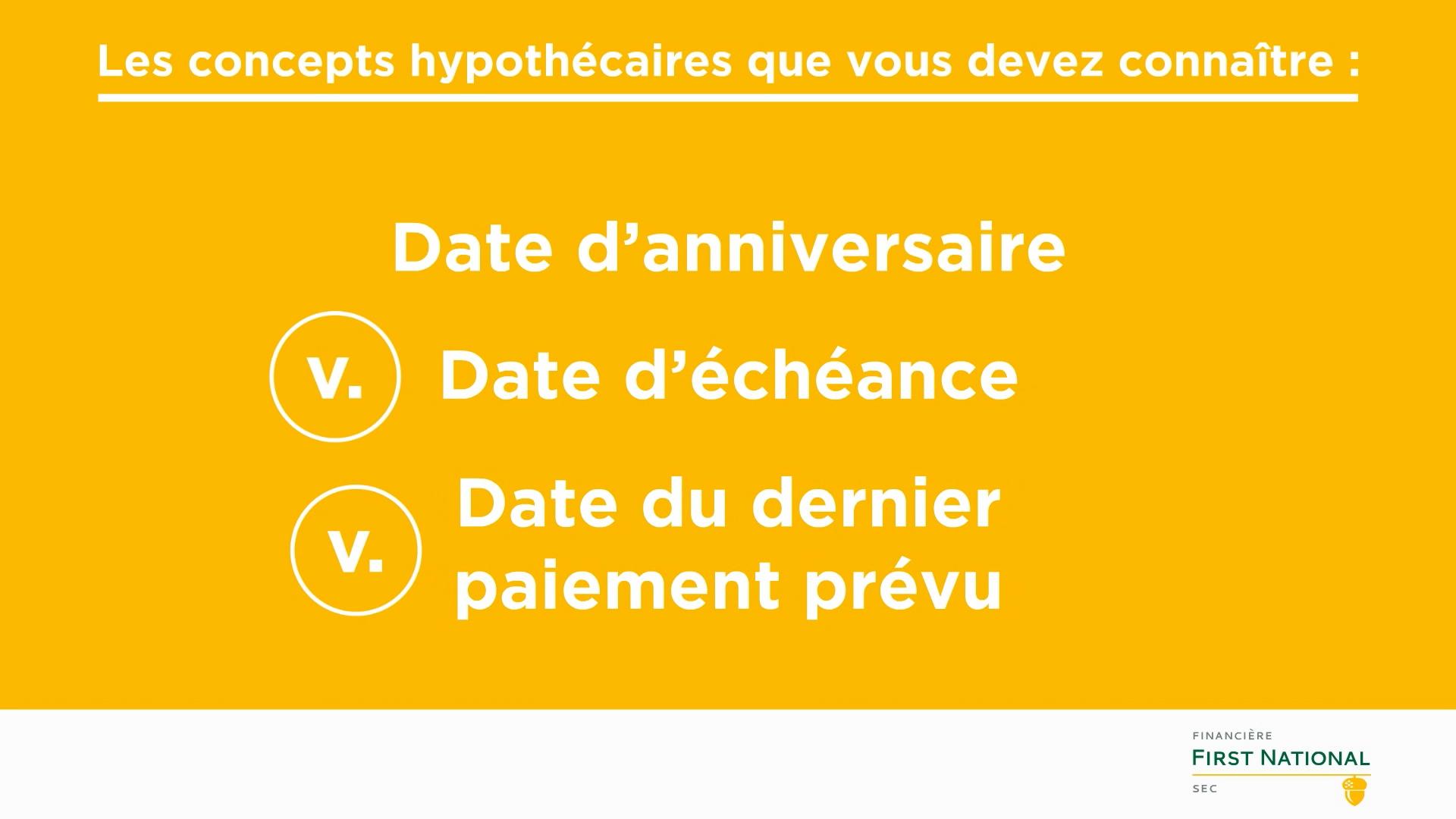 Anniversary vs Maturity vs Last Scheduled Date_FR
