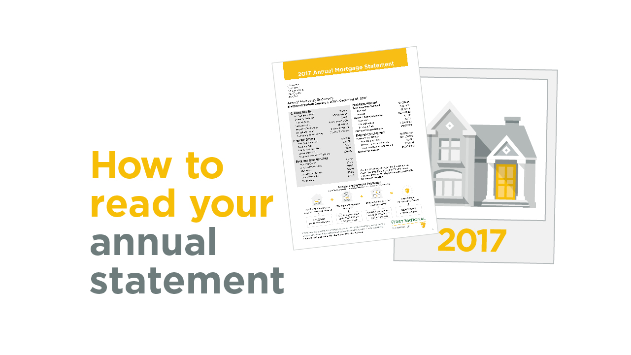 How to read you annual statement