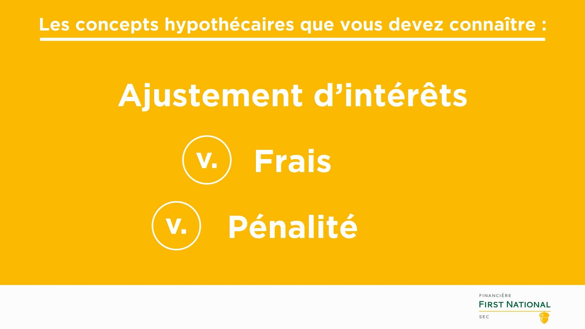 Interest Adjustment  vs Fee vs Penalty_FR