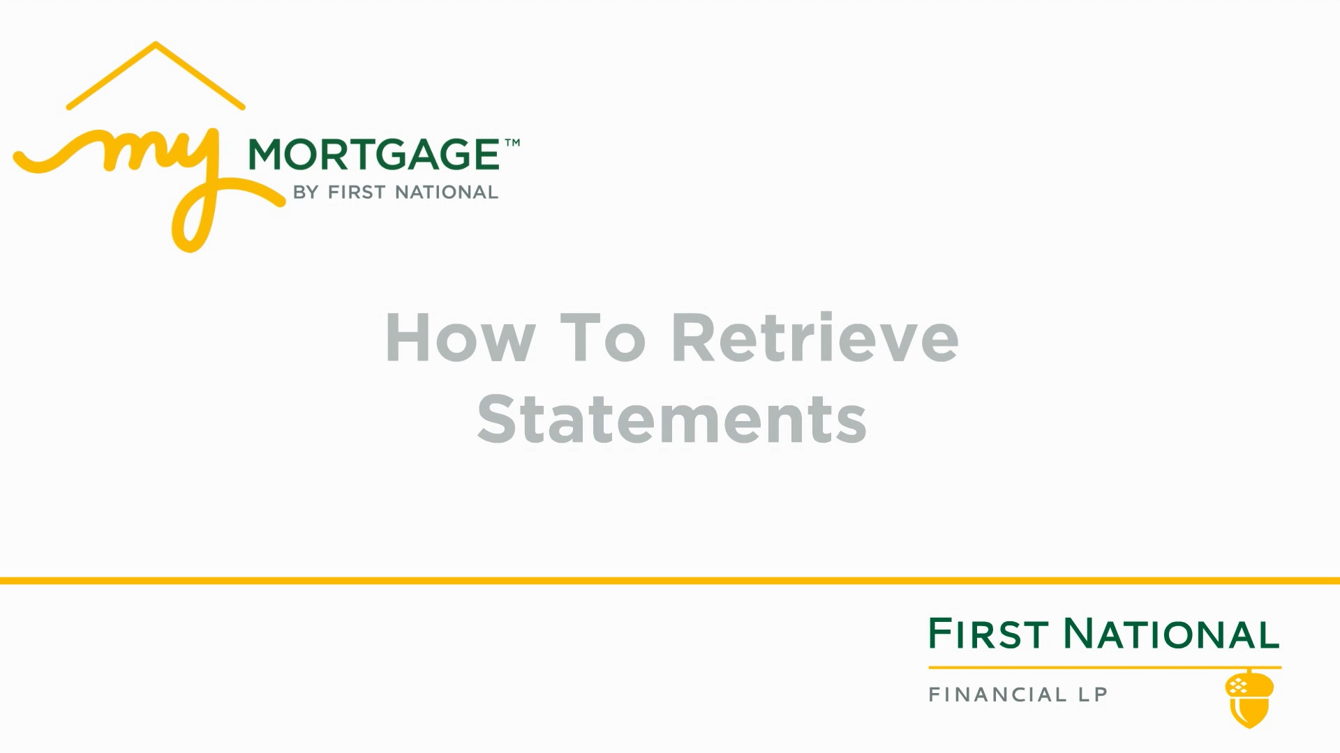 Retrieving Mortgage Statements_ENG